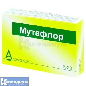 МУТАФЛОР капсулы