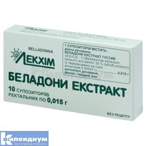 БЕЛЛАДОННЫ ЭКСТРАКТ