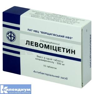 Левомицетин инструкция по применению