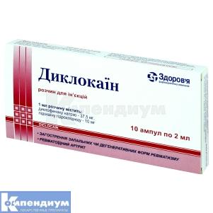 Диклокаин инструкция по применению