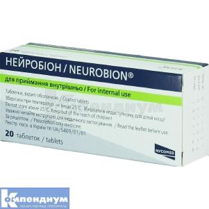 Нейробион таблетки инструкция по применению