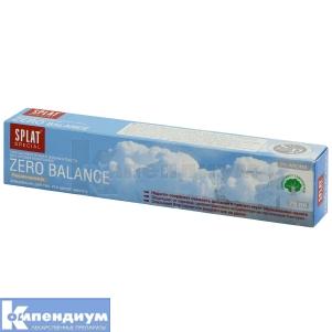 Зубная паста Сплат Зеро баланс, Delta Medical Promotions AG