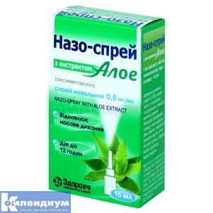 Назо-Спрей с экстрактом алоэ инструкция по применению