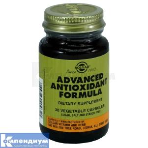 Антиоксидантная формула, Solgar Vitamin and Herb