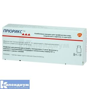Приорикс комбинированная вакцина для профилактики кори, эпидемического паротита и краснухи инструкция по применению