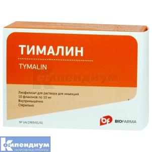 Тималин инструкция по применению
