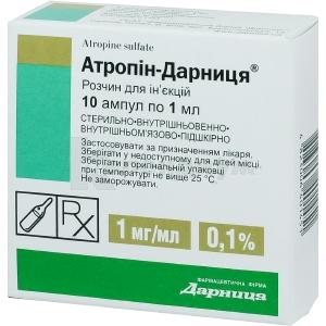 АТРОПИН-ДАРНИЦА инструкция по применению