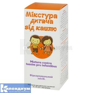 Микстура от кашля для детей
