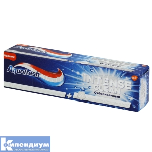 Зубная паста Аквафреш интенсивное очищение