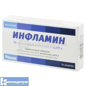 Инфламин инструкция по применению
