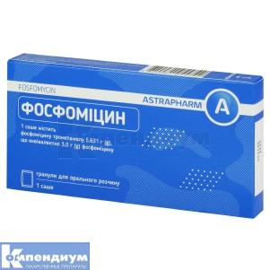Фосфомицин инструкция по применению