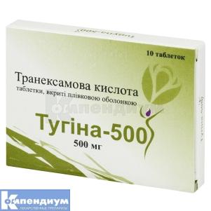 Тугина 500 инструкция по применению