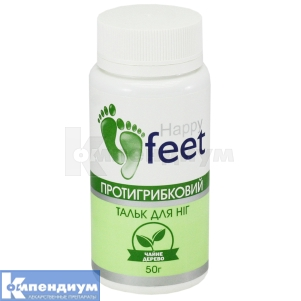 Тальк для ног Противогрибковый