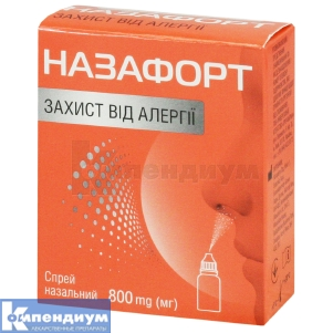 НАЗАФОРТ защита от аллергии инструкция по применению