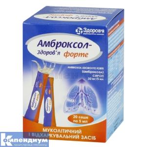 АМБРОКСОЛ-ЗДОРОВЬЕ ФОРТЕ