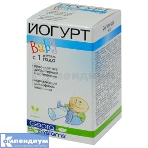 Йогурт Baby инструкция по применению