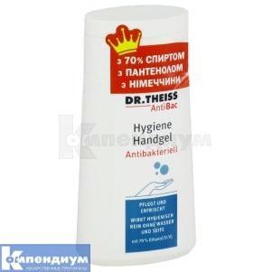 AntiBac Др.Тайсс гигиенический гель для рук