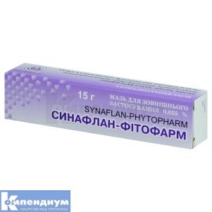 СИНАФЛАН-ФИТОФАРМ инструкция по применению