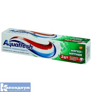 Зубная паста Аквафреш 3 Мягко-мятная