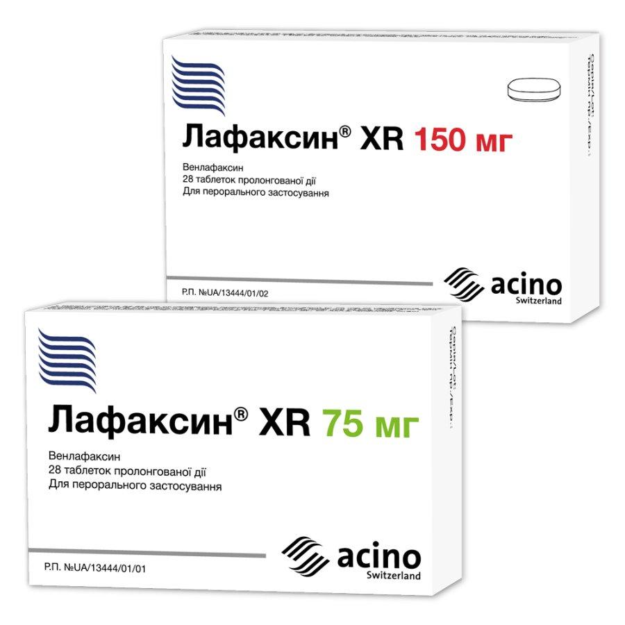 ЛАФАКСИН XR инструкция по применению