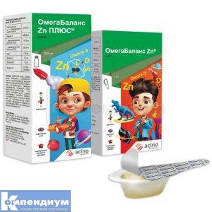 ОмегаБаланс Zn ПЛЮС инструкция по применению