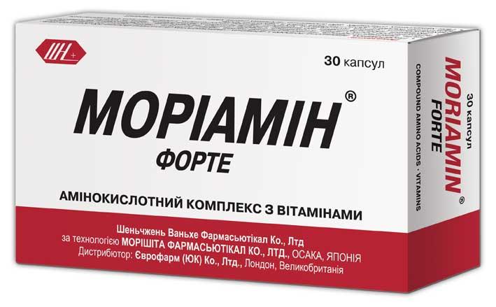 МОРИАМИН ФОРТЕ инструкция по применению