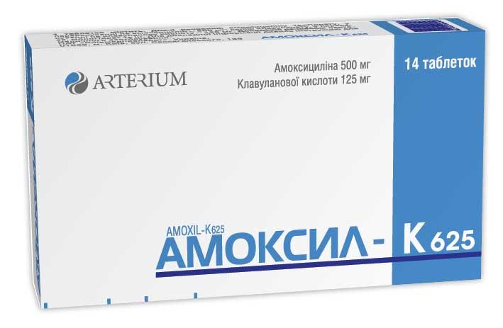 Амоксил-К 625 инструкция по применению
