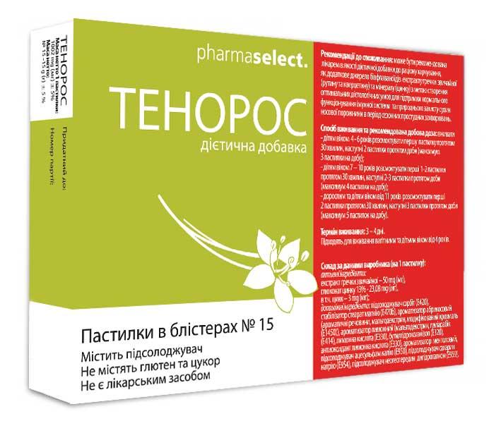 ТЕНОРОС инструкция по применению