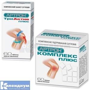 Артрон КомплексПлюс / АртронТриактивПлюс инструкция по применению