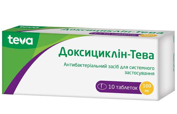 Доксициклин-Тева инструкция по применению