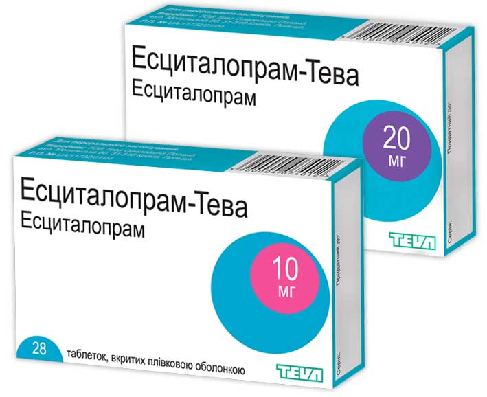 Эсциталопрам-Тева
