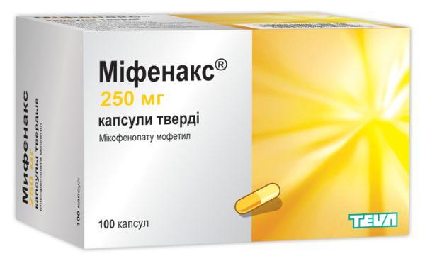 МИФЕНАКС инструкция по применению