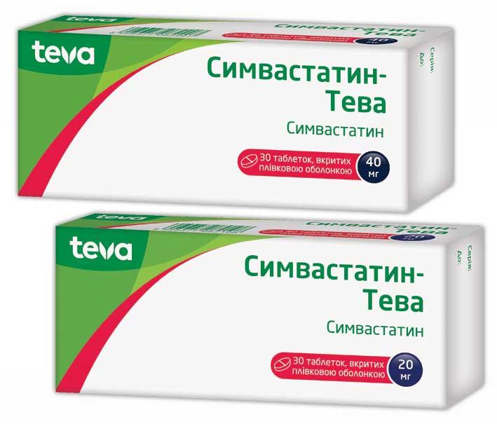 Симвастатин-Тева инструкция по применению