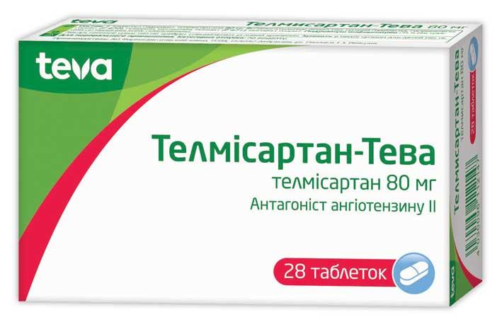 ТЕЛМИСАРТАН-ТЕВА инструкция по применению