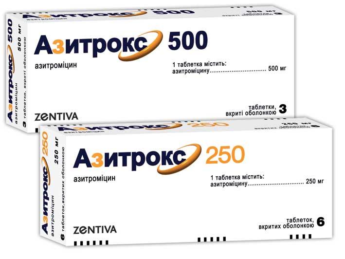 АЗИТРОКС 500 инструкция по применению
