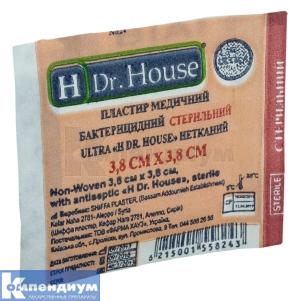 Лейкопластырь бактерицидный стерильный ультра Н др. Хаус