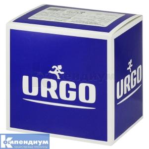 Лейкопластырь Урго прозрачный с антисептиком