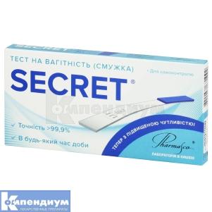 Тест для определения беременности Секрет
