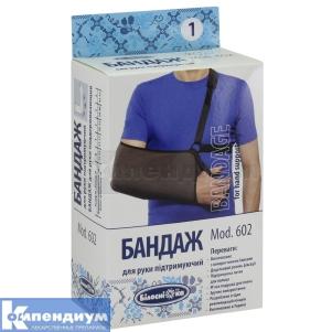Бандаж для руки поддерживающий инструкция по применению