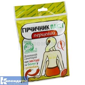 Горчичник-пакет перцовый