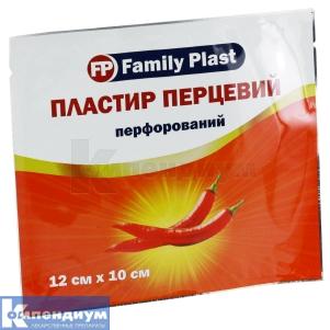 Пластырь перцовый Фемили пласт