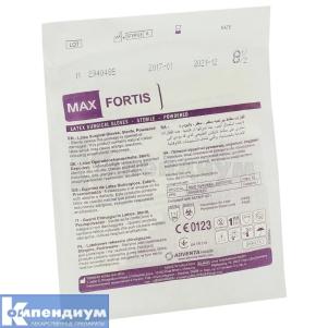 Перчатки латексные стерильные Макс фортис