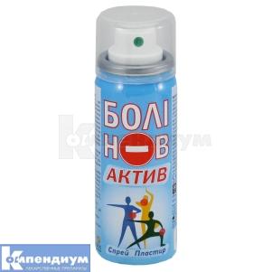 Болинов актив спрей пластырь