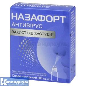 НАЗАФОРТ антивирус инструкция по применению