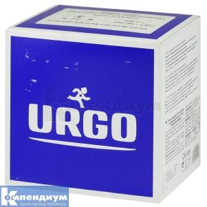 Лейкопластырь Урго эластичный с антис.